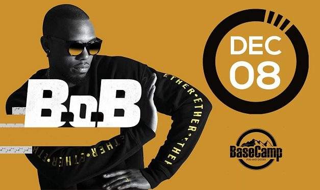 B.o.B at Basecamp Venue